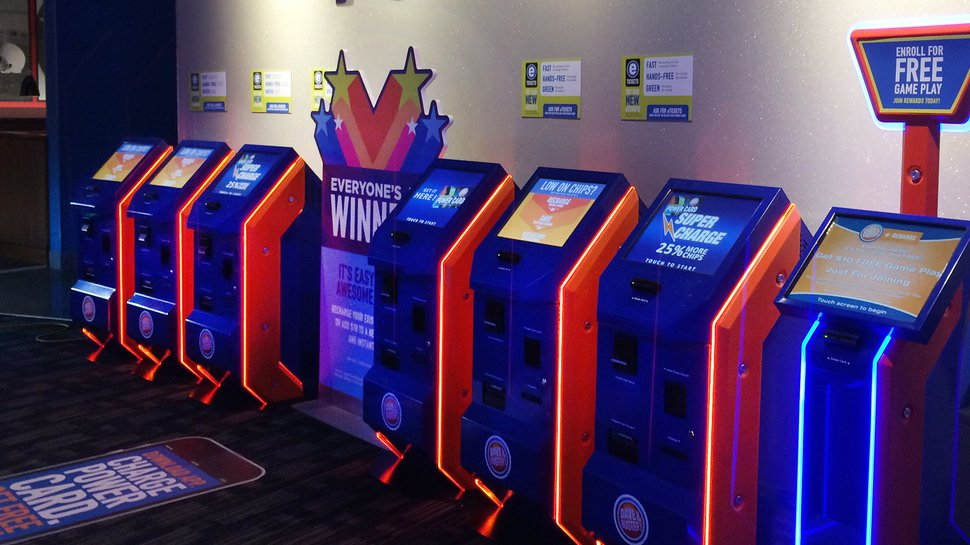 Dave & Buster's entertainment play: Interactive technology played a key role