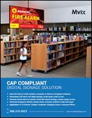 CAP Compliant Digital Signage Solution