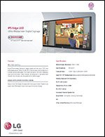 LG2 9WR30MR-B Specification Sheet