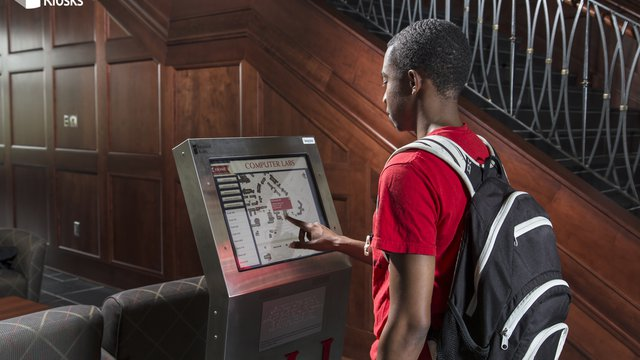 How to get an education kiosk using grants