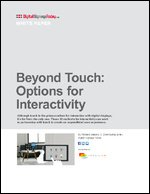 Beyond Touch: Options for Interactivity