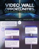 [INFOGRAPHIC] Video Wall Opportunities: Installation and Up-Sell Opportunities