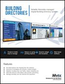Building Directory Signage Displays