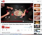 Pizza Hut testing interactive tabletops