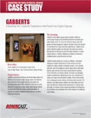 Gabberts: Enhancing the Customer Experience with RoninCast Digital Signage