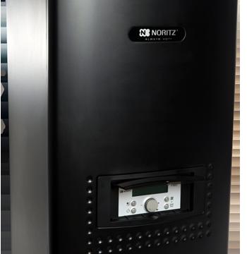 New combination boiler satisfies multiple hot-water needs