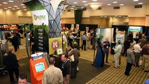 The afternoon of the first day was capped off by a reception for the approximately 600 attendees and exhibitors.
