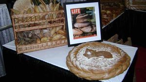 Tom Cat Bakery of New York displayed the latest in its artisan bread offerings at the show.