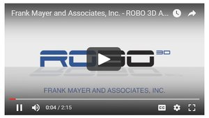 Robo 3D and Frank Mayer and Associates, Inc. tell their 3D printer collaborative story via video