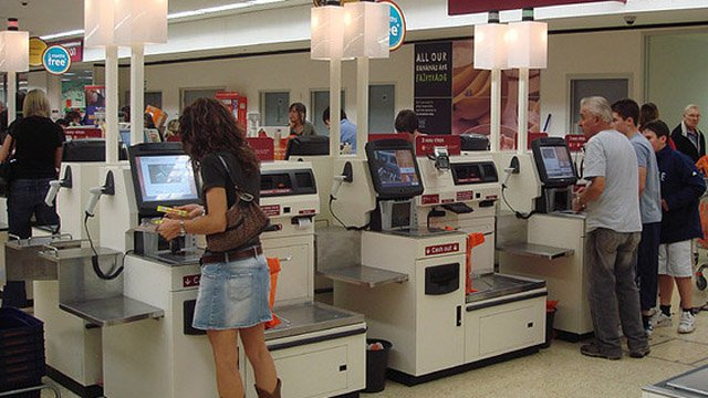 Supermarket Self Checkout Technology Approaching Tipping