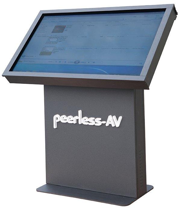Landscape Kiosk Enclosure Peerless Av Digital Signage