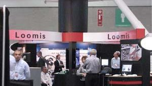 The Loomis booth.