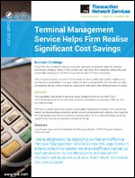 Terminal Management Service Delivers 30% Cost Savings | POS Case Study | Retail
