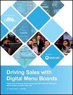 Driving Sales with Digital Menu Boards
