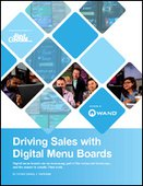 Driving Sales with Digital Menu Boards