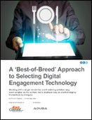 A 'Best-of-Breed' Approach to Selecting Digital Engagement Technology