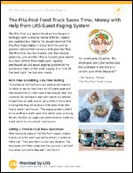 The Pita Post Food Truck Saves Time, Money with Help from LRS Guest Paging System