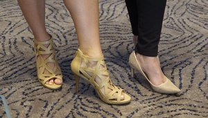 The Summits always inspire fabulous shoes!
