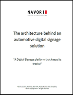 The Architecture Behind an Automotive Digital Signage Solution | Navori Labs Digital Signage Engine