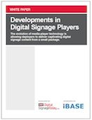 Developments in Digital Signage Players
