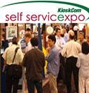Digital signage at Self Service Expo