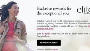 Loyalty limelight: Lancôme Elite Rewards