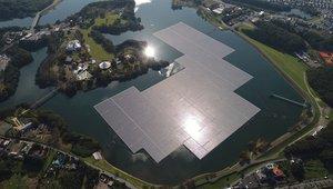 Japan opens nation's largest floating solar farm