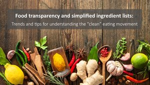 Webinar: How restaurants can meet consumers' demands for clean eating