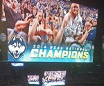 Final Four fans score with digital signage assist