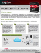 Software Solutions for Digital Signage and Kiosks