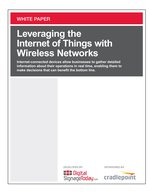 Leveraging the Internet of Things with Wireless Networks