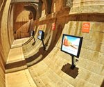 Kiosks, digital signage help history go hi-tech