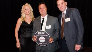 The No. 7 brand in the 2013 Fast Casual Top 100 was Penn Station East Coast Subs. Jerett Vance received the plaque for the fast-growing sandwich chain.