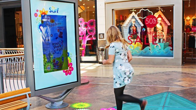 Surf's up: The smell of digital signage success
