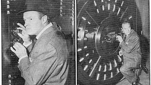 An extra fun fact: In 1955, comedian Bob Hope clowned with a Diebold vault door at a bank opening in Texas.
