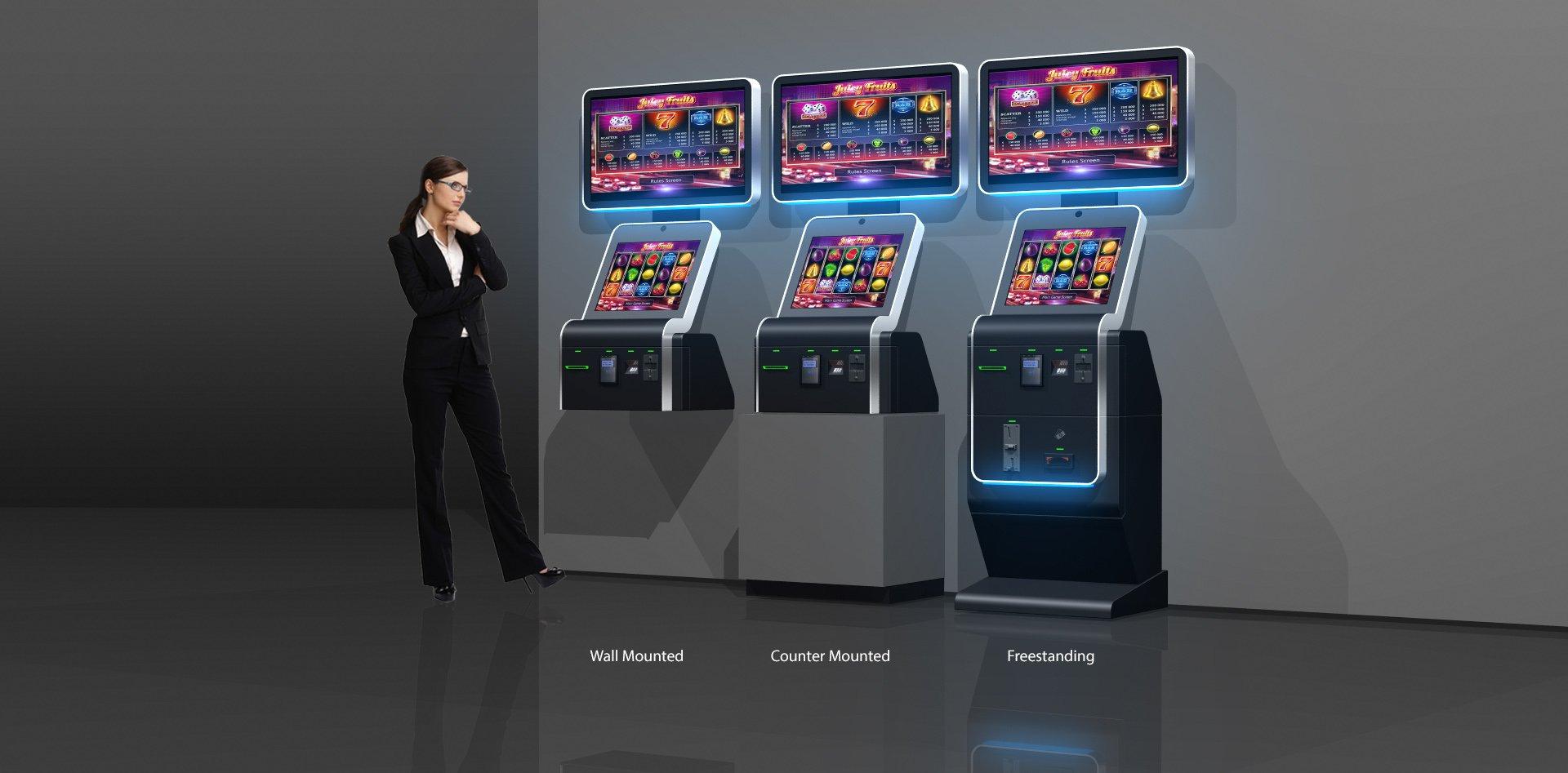 Cabinet slot machine