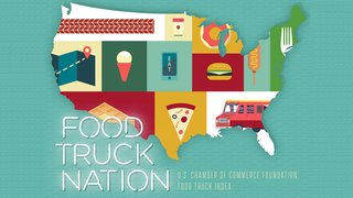 US Chamber of Commerce ranks food truck restrictions nationwide, calls for change