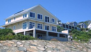 Oceanfront home harvests the sun, shuts out the wind
