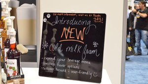 The cold foam enables traditional and novel coffee+milk combinations to help operators diversify their menus.