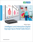 Intelligent and Interactive Digital Signage Spurs Retail Sales Boom