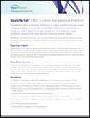 OpenMarket™ CMX2 Content Management Platform