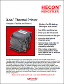 Hecon X-56™ Thermal Printer