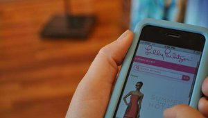 Lilly Pulitzer mobile app launch party
