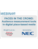 Webinar:  Faces in the Crowd: Audience measurement tools in digital place-based media