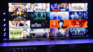 108-screen digital signage video wall unveils fall lineup for CTV