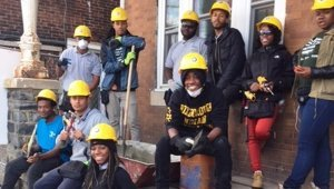 Saint-Gobain and YouthBuild Philadelphia complete two LEED Platinum home renovations