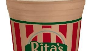 Rita's Ritaccino is a mix of Italian Ice and Frozen Custard, swirled with either Café or Mocha.