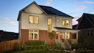 Thrive Home Builders constructed this 3,322-square-foot home in Denver, Colorado, to the performance criteria of the DOE Zero Energy Ready Home (ZERH) program.