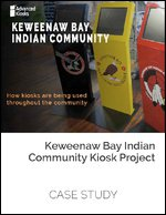 Keweenaw Bay Indian Community Kiosk Project