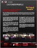 X2O Customer Profile: Hard Rock Casino and Resort – Tulsa Digital Signage in Gaming and Casinos